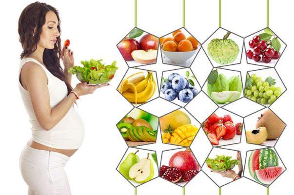 Bé khỏe mạnh nhờ nguyên tắc dinh dưỡng cho mẹ bầu