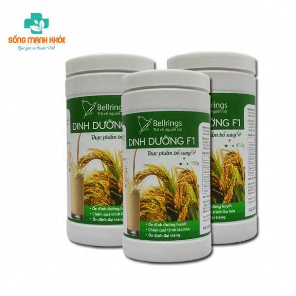 Dinh dưỡng F1 từ màng gạo lứt giúp xương chắc khỏe
