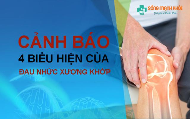 Biểu hiện của đau nhức xương khớp