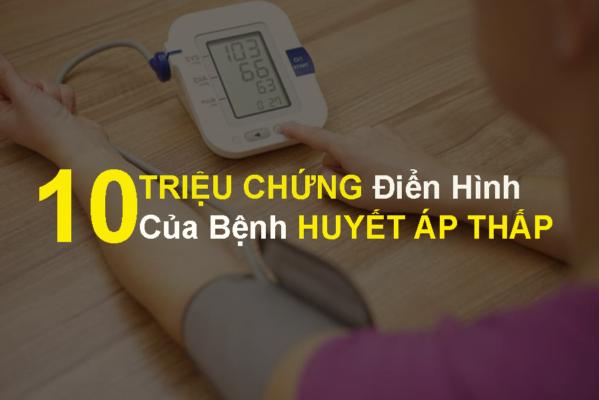 Triệu chứng điển hình của bệnh huyết áp thấp