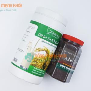 Sử dụng kết hợp muối ngâm chân Sinh Dược với Dinh dưỡng F1 để giảm đau xương khớp.